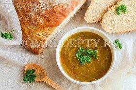 Овощной суп-пюре с баклажанами
