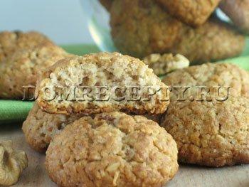 Овсяное печенье, приготовленное в домашних условиях