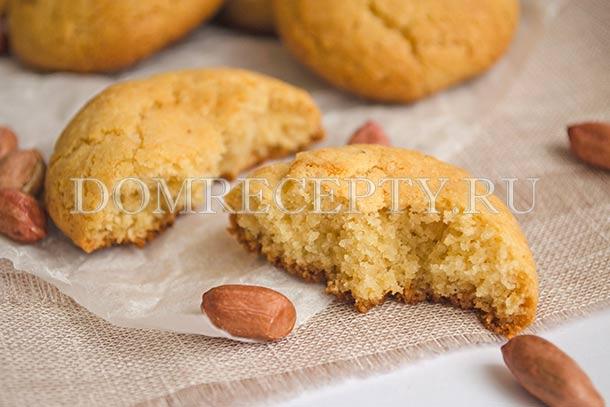 Печенье с пастой из арахиса