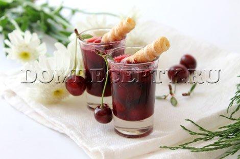 Рецепт вишневого варенья без косточек