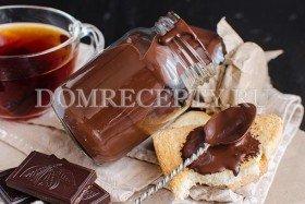 Шоколадный соус для блинов