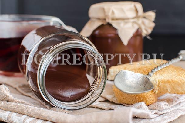 Шоколадный соус из какао и шоколада