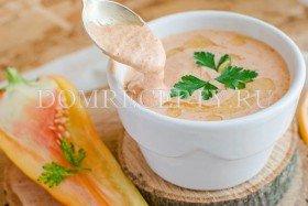 Соус из болгарского перца и чеснока