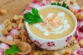 Суп-пюре из квашеной капусты