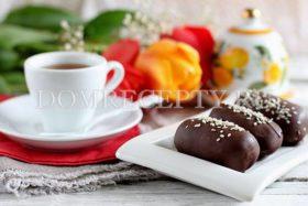 Шоколадные творожные сырки Картошка