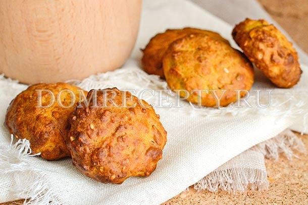 Полезное тыквенное печенье