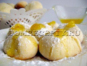 Тыквенное песочное печенье
