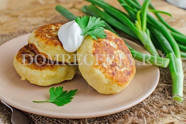 Зразы из картофеля с фаршем